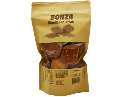 Bonza Cereals Biscuits 200 Gr