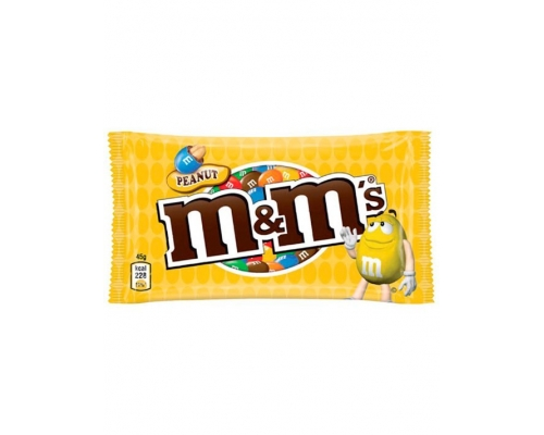 Amendoins Com Chocolate M&M's 45 Gr