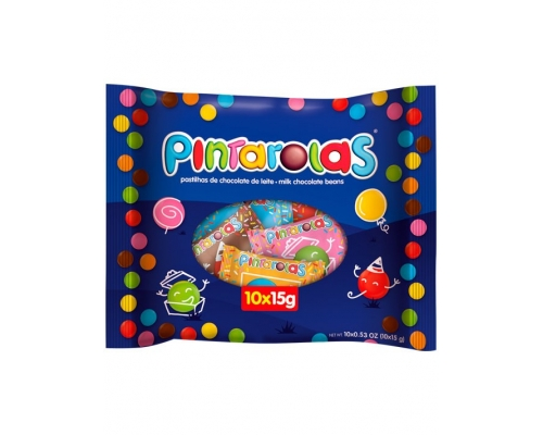Pintarolas Chocolate Dragees 10 x 15 Gr