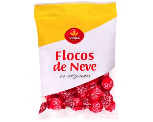 Vieira Flocos Neve Candies 100 Gr